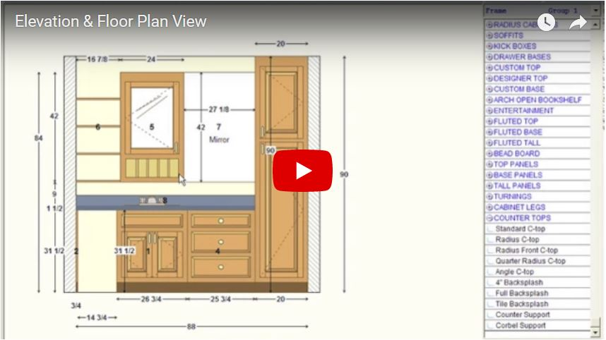 Elevation Floor Plan View Kcd Software